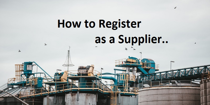How to Register as a Supplier to Shell